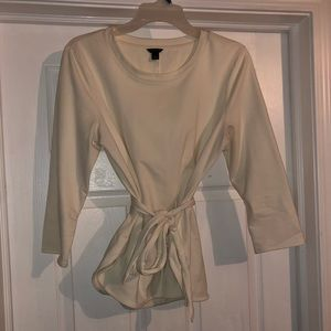 Ann Taylor tie waste blouse